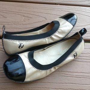 NATURINO leather cap toe flats 32 1